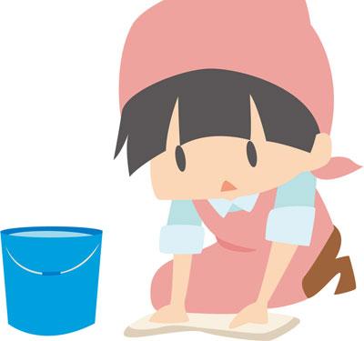 トイレ掃除 子供