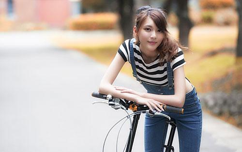 自転車 かわいい