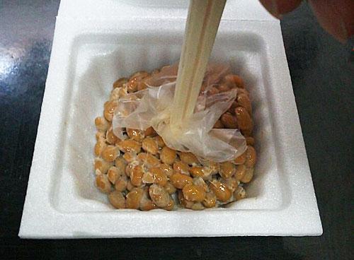納豆 割り箸