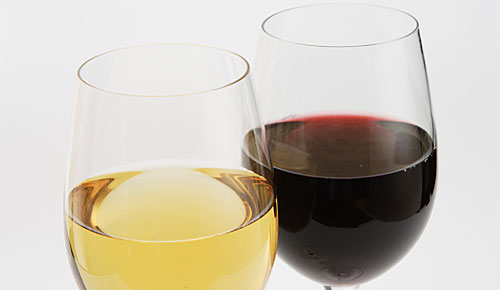 白ワイン 赤ワイン