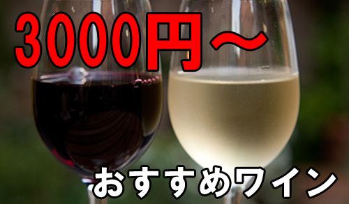 ワイン 3000円