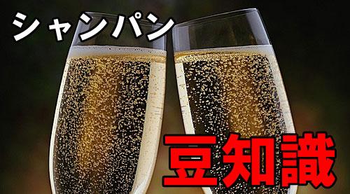 シャンパン 泡